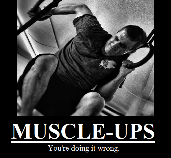 foute muscle-up