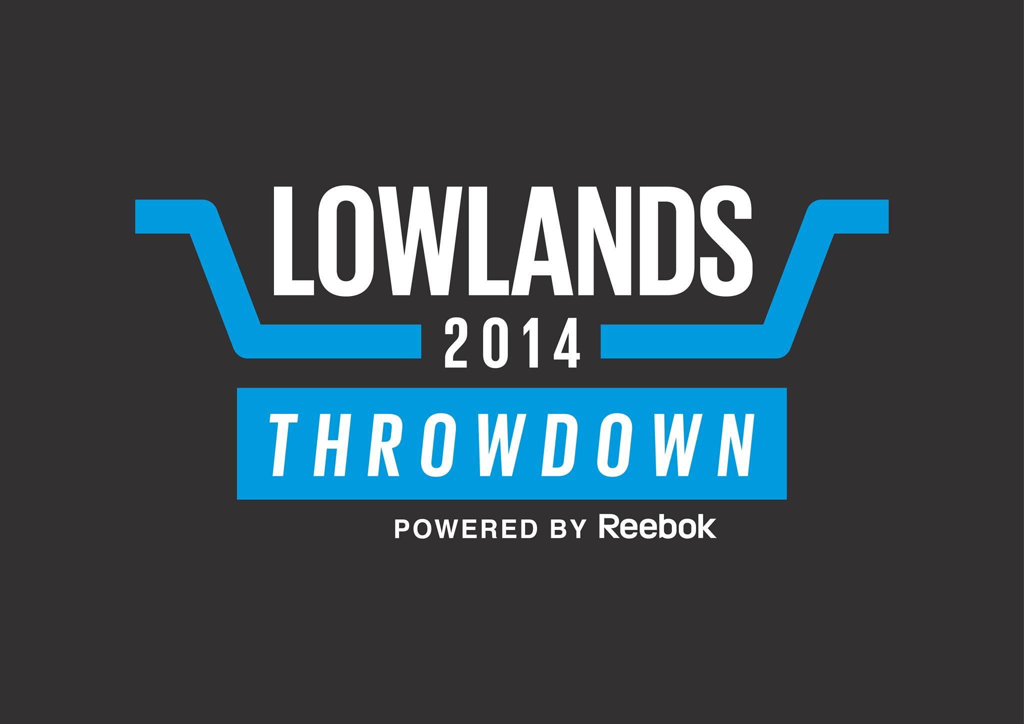 logo van het nederlandse crossfit competitie: lowlands throwdown