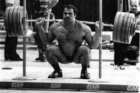 voorbeeld van de powerlifting squat