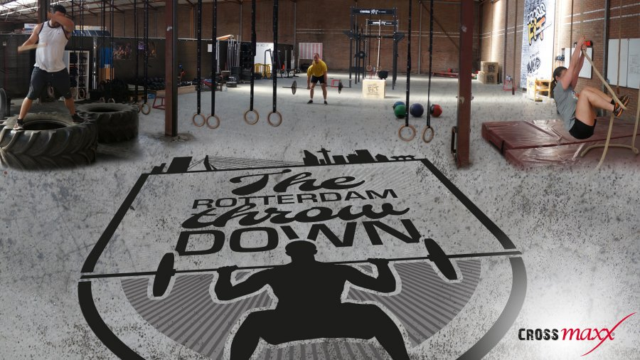 the rotterdam throwdown crossfit zaal