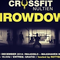 flyer van de nultien throwdown in rotterdam