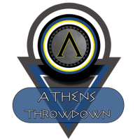 logo van the athens throwdown