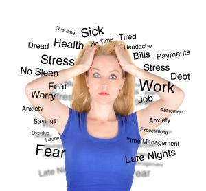 stressen voor het slapen gaan
