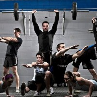 verschillende crossfit oefeningen