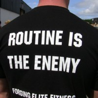 routine is the enemy crossfit