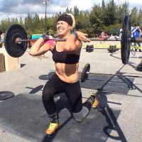 front squat lunge